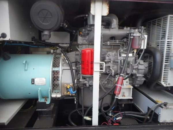 50kva Generator Standby Electric Isuzu Engine Denyo Arcgen - North Yorkshire 8