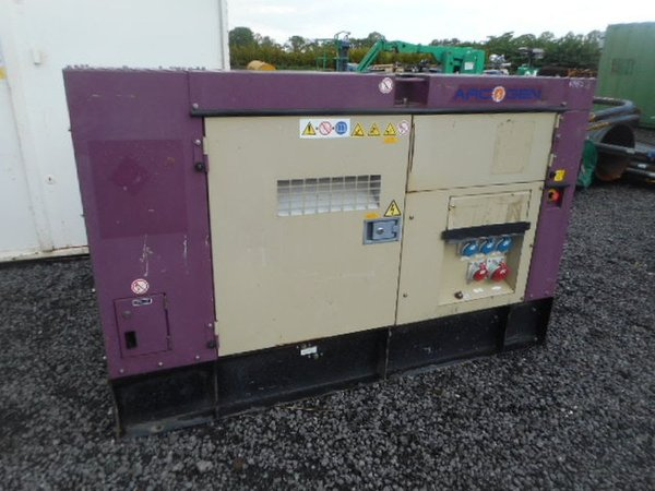 50kva Generator Standby Electric Isuzu Engine Denyo Arcgen - North Yorkshire 1