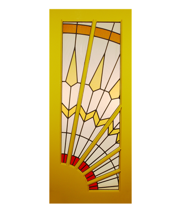 Full Sunburst Door