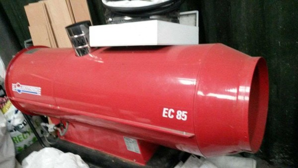 Nearly New EC 85 Turbo Heater