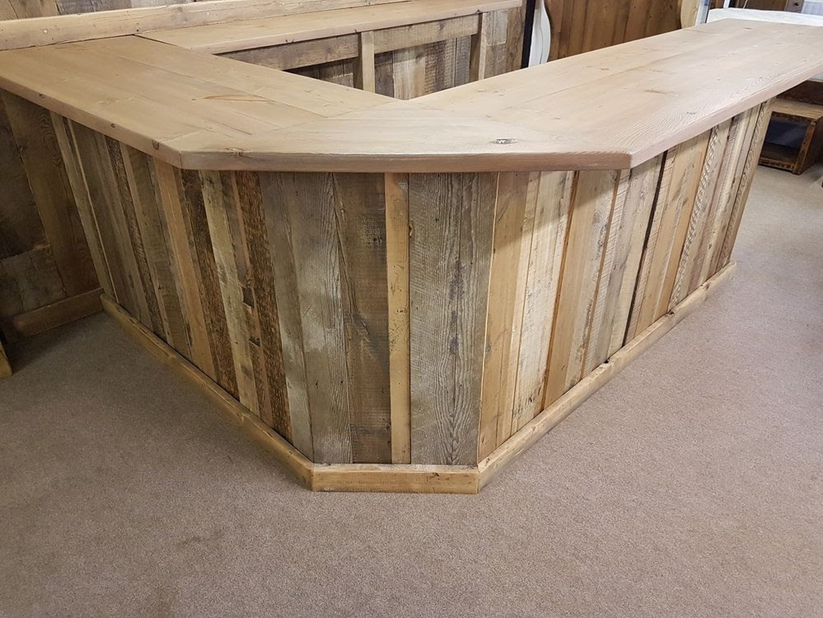 Secondhand pub equipment reclaimed bars rustic for Wooden bar unit