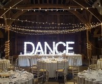 New Bespoke Giant Illuminated Love Lights LED 'DANCE'