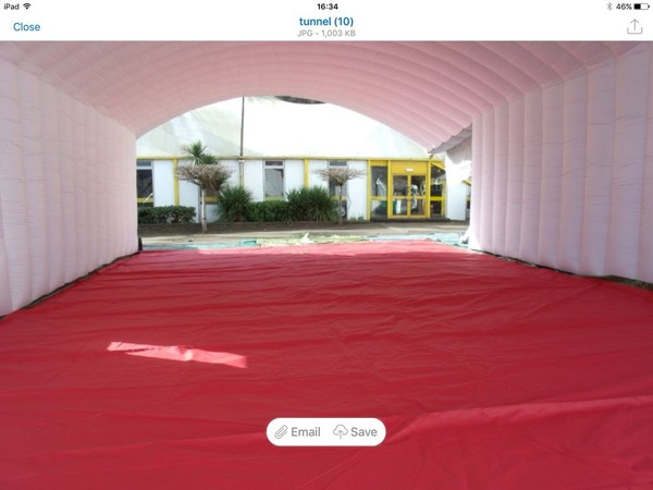 2 Blower Inflatable Marquee