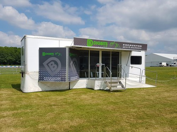 9m hospitality trailer for sale