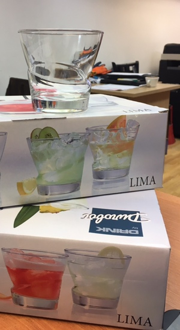 Lima Short Cocktail Glass 25cl-/8 3/4oz Durobor