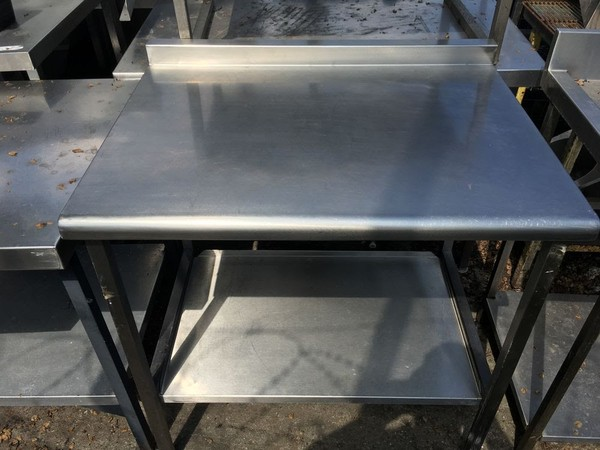 900mm Stainless Steel Table