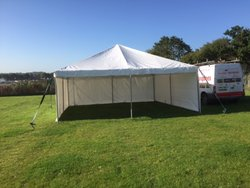6 x 6m (20 x 20ft) frame marquee