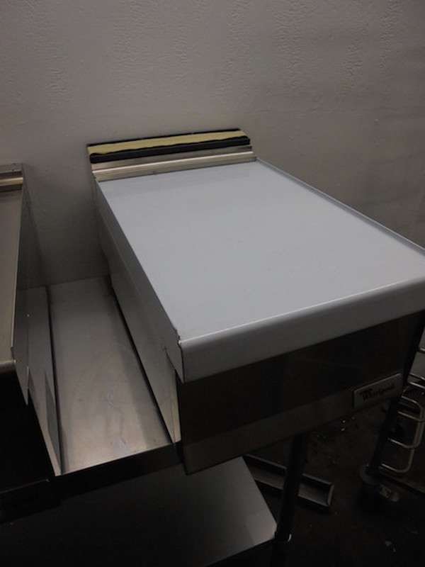 New Whirlpool 71800 Stainless Steel Counter Infill(5005)