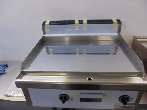 New Whirlpool AGB 545/WP Chrome Toped Griddle
