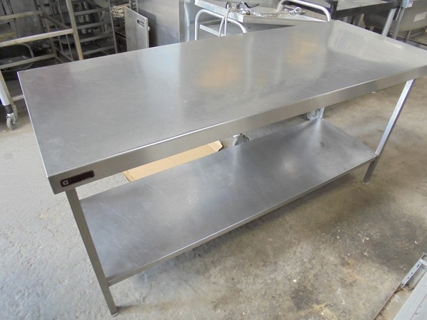 Stainless Steel Corsair Table (4986)