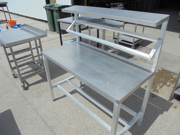 Stainless Steel Table & Gantry (4991)