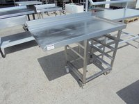 Stainless Steel Dishwasher Table (4992)