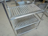 Stainless Steel 3 Tier Rack	(5008)