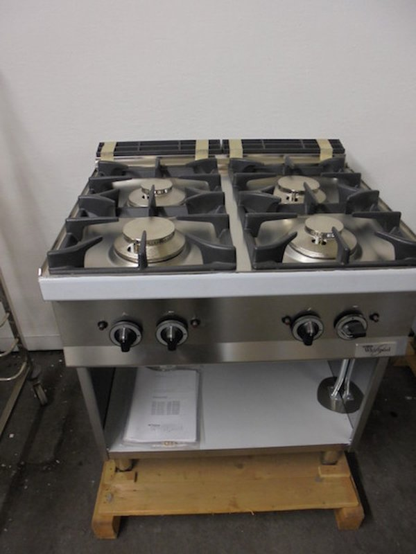 New Whirlpool AGB483 4 Burner (5018)