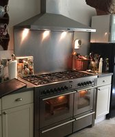 Stoves Professional Double Oven Cooker 7 Burner Hob