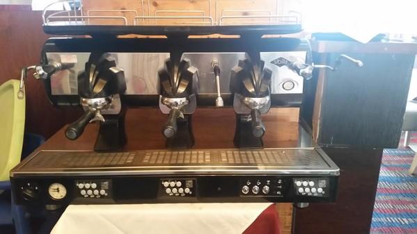 Stainless Steel Coffee Machine