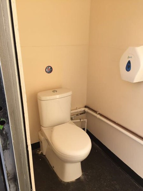 DDA Saniflow toilet