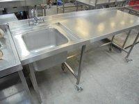 Stainless Steel Single Bowl Sink
