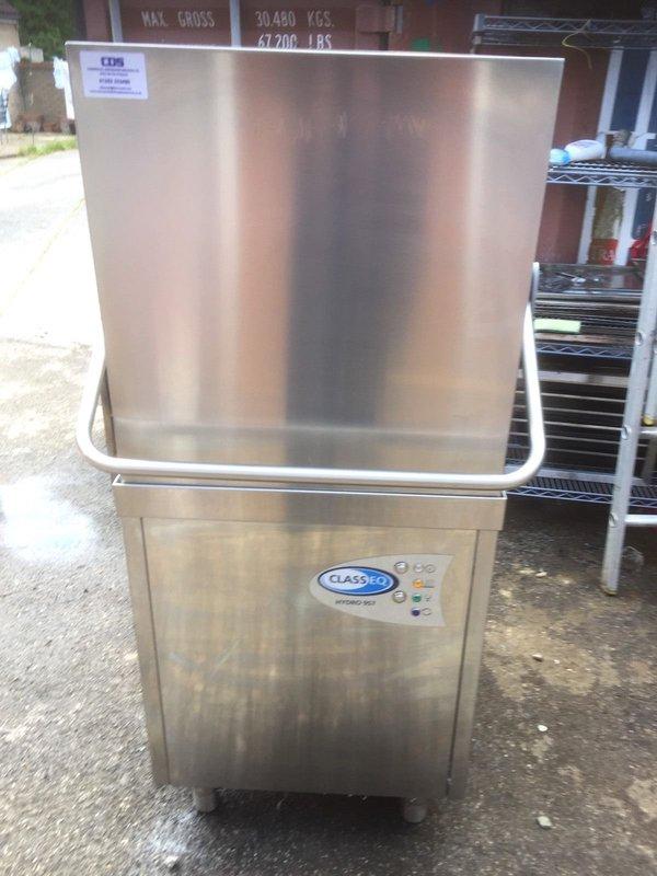 2015 Classeq H957a Passthrough Pass Through Hood Dishwasher Dish Pot Wash Vgc