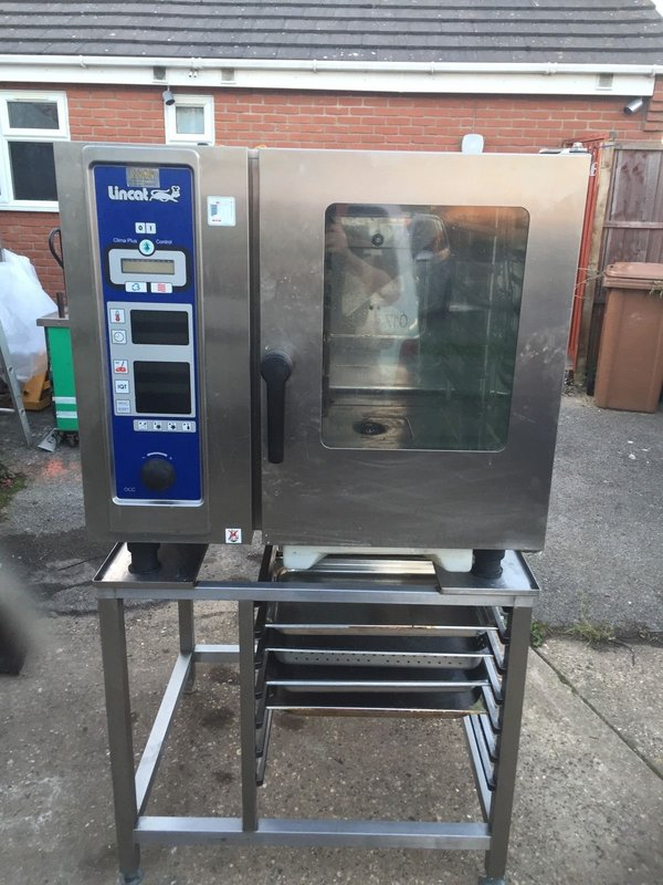 Lincat Rational Cpc61 6 Six Grid Combi Oven Cooker Steamer Steam Serviced Tested