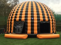 UK's Largest Airquee 9m Disco Dome