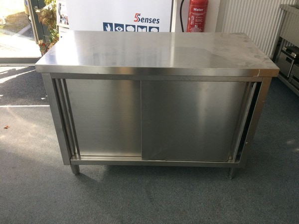 Empire Stainless Steel Floor Cabinet
