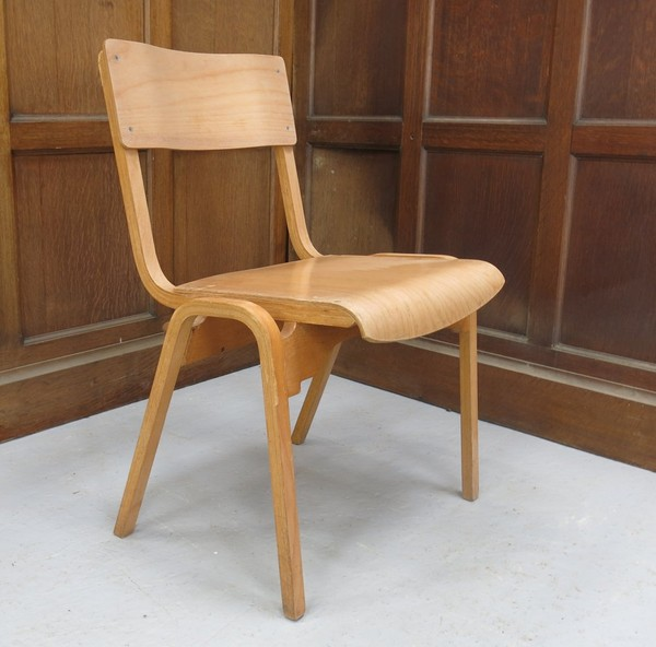 Lighter Ply Stafford Stacking Chairs