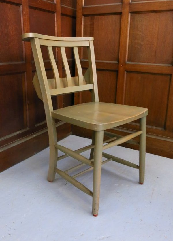 Harpenden Larger Sized Slatback Church Chapel Chair