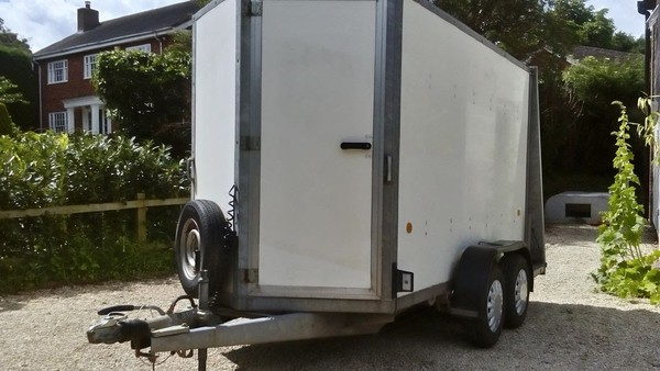 Ifor Williams 10x5 Twin Axle Box Trailer