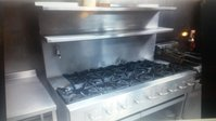 9 Burner Commercial Cooker