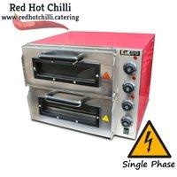 "Kukoo KPIZ40B 16"" Twin Pizza Oven (Ref: RHC2424) - Warrington, Cheshire"