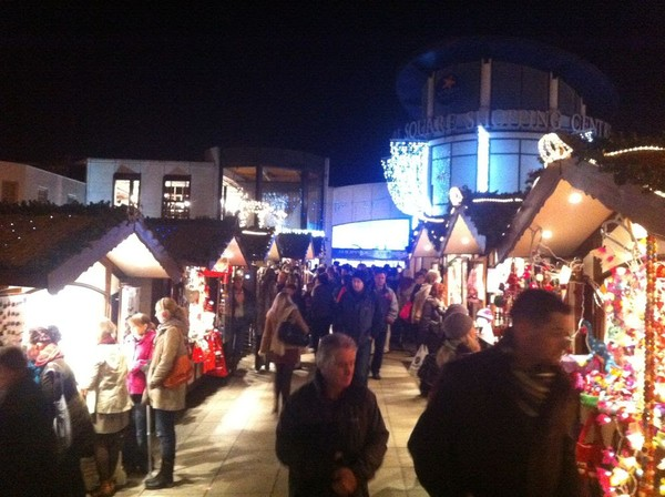 Christmas Market Huts Luxury Version