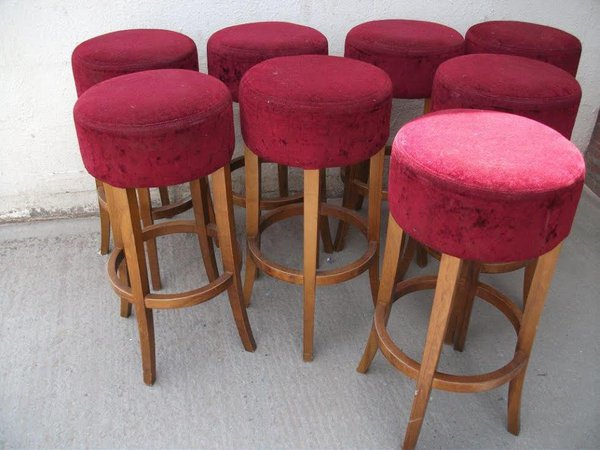 8x Bar Stools (Code BS 163A)