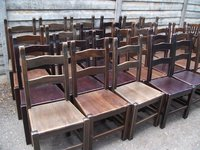 Ladder Back Pub/Restaurant Chairs