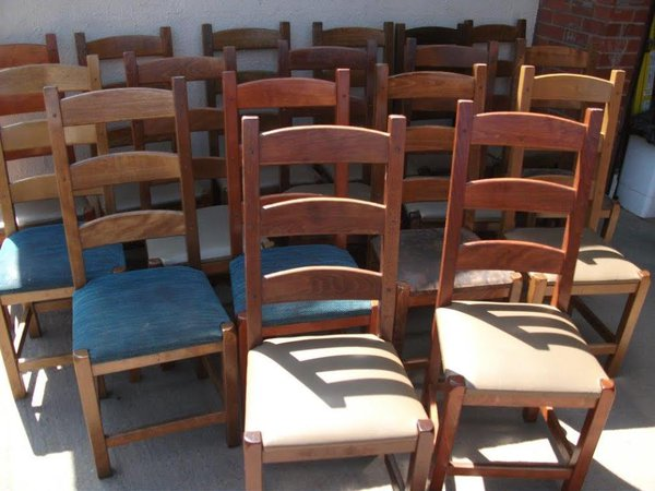 Ladder Back Pub/Dining/Restaurant Chairs (Code DC 751A)