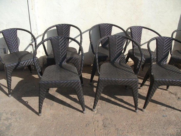 8x Outdoor Chairs (Code OF 167A)