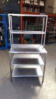Stainless steel rack   60d x 90 w x 170