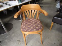 14 Blonde Bentwood Cafe/Pub Chairs In Used Condition