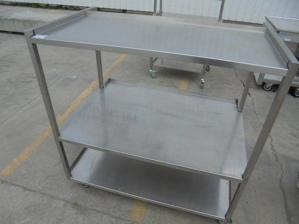 Stainless steel shelves / trolly