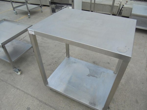 stainless steel trolley or stand