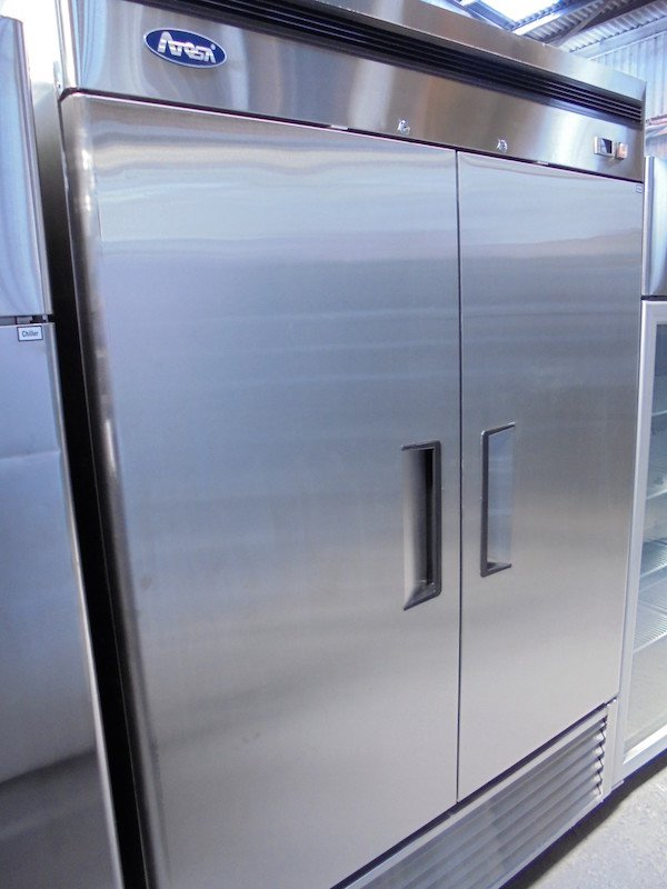 New Atosa Stainless Steel Double Door Freezer (5149)
