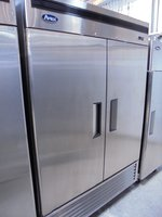 New Atosa Stainless Steel Double Door Fridge  (5151)