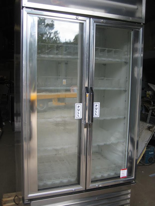 True Stainless Steel 1 Metre Display Chiller