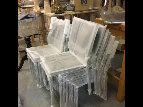 Black Weave Chair