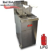 Thor Single Tank Twin Basket Fryer