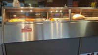 4 Pan Florigo Fish And Chip Frying Range With Display Counter