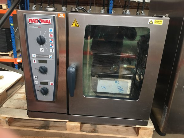 Rational CMP61 CombiMaster Electric Combination Oven 6 Grid