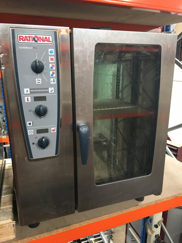 Rational CMP101 CombiMaster Electric Combination Oven 10 Grid