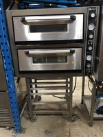 Ozex Double Deck Pizza Oven On Stand 3 Phase