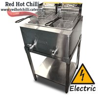 Buffalo Double Tabletop Fryer with Stand